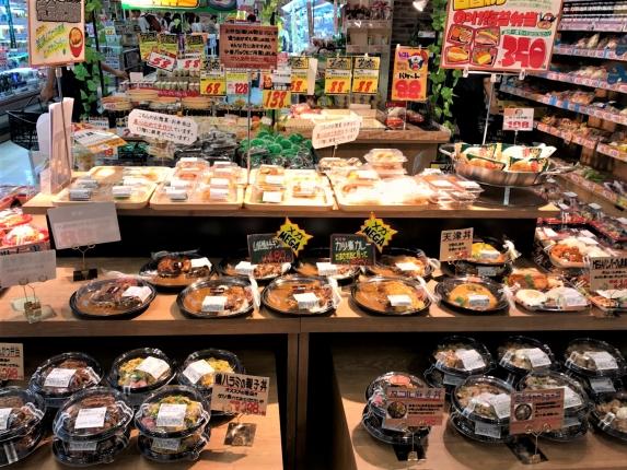 MEGAドンキ渋谷店 総菜コーナー