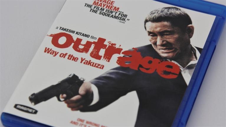 『アウトレイジ』北米版Blu-rayパッケージ表面