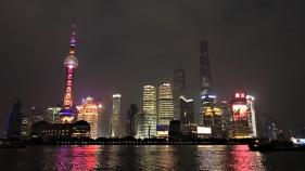 上海 外灘(ワイタン)の夜景
