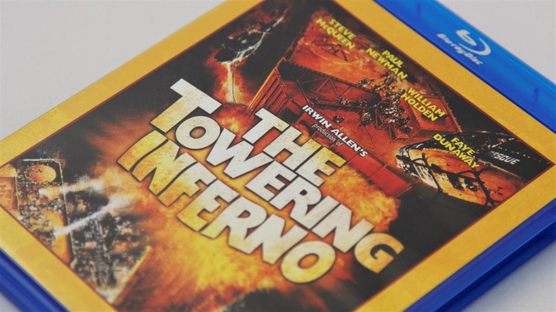 『タワーリング・インフェルノ』Blu-rayパッケージ表面