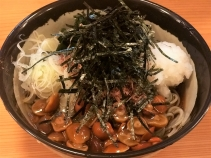 キノコおろし蕎麦