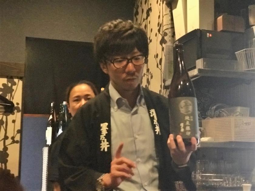 澤乃井(小澤酒造) 小澤取締役