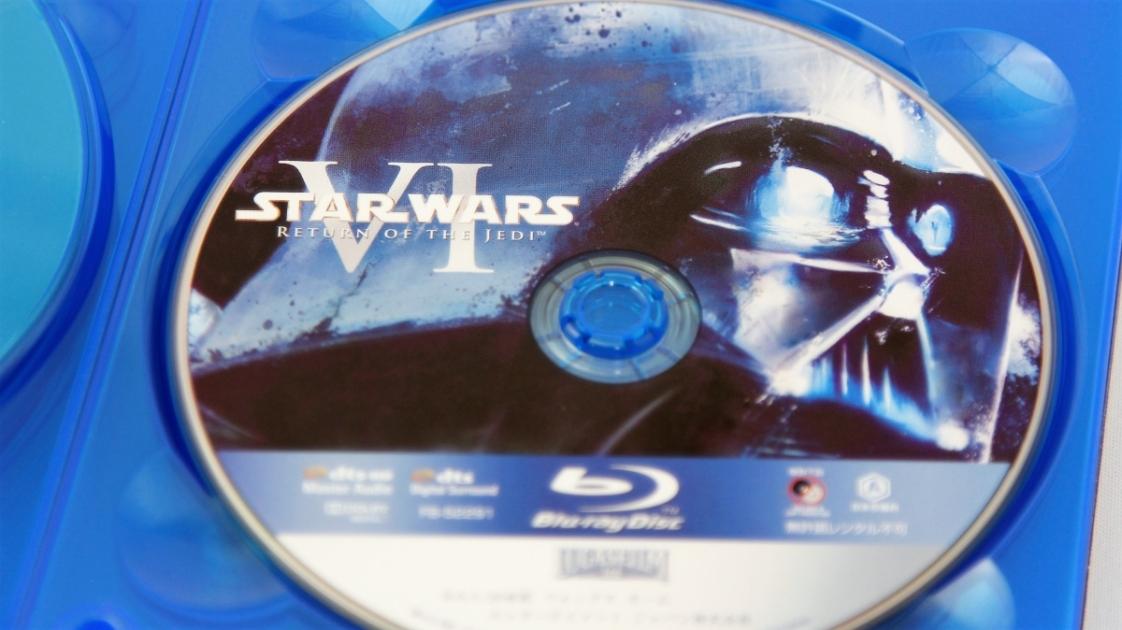 『スター・ウォーズ/ジェダイの帰還』Blu-rayディスク