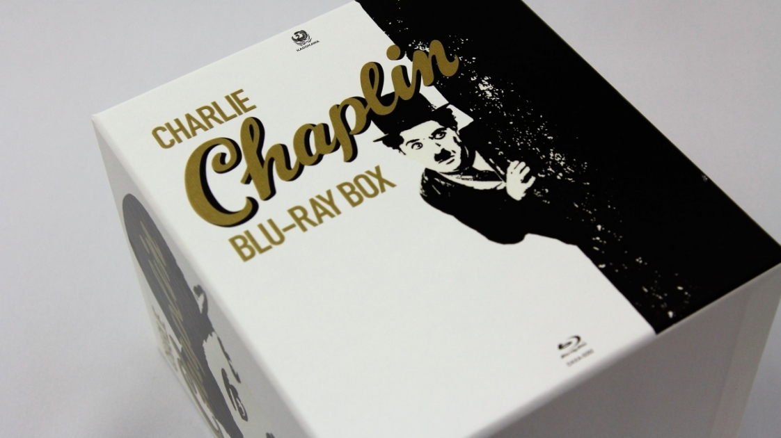 チャップリン Blu-ray Box