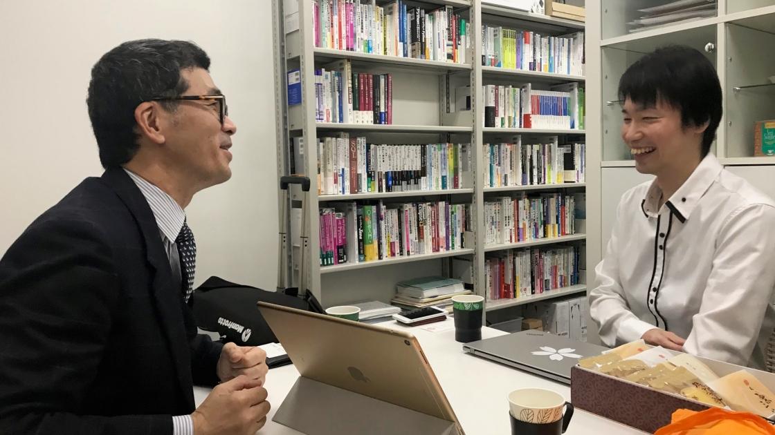 平和商会 早野と櫻井 義尚 准教授
