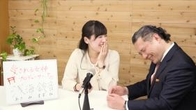 浅海鈴音さんと談笑している様子