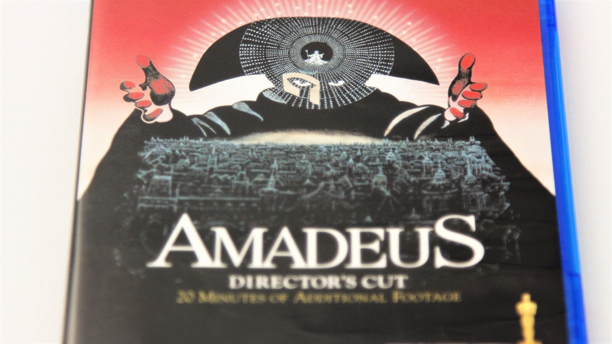 『アマデウス ディレクターズカット版』Blu-rayパッケージ表面