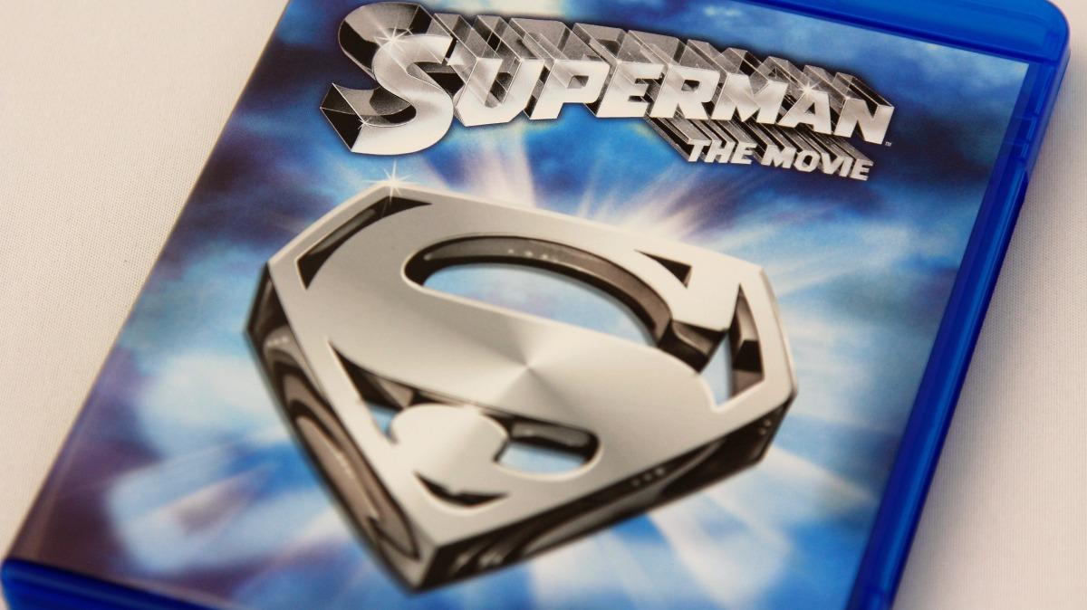 『スーパーマン』Blu-ayパッケージ表面