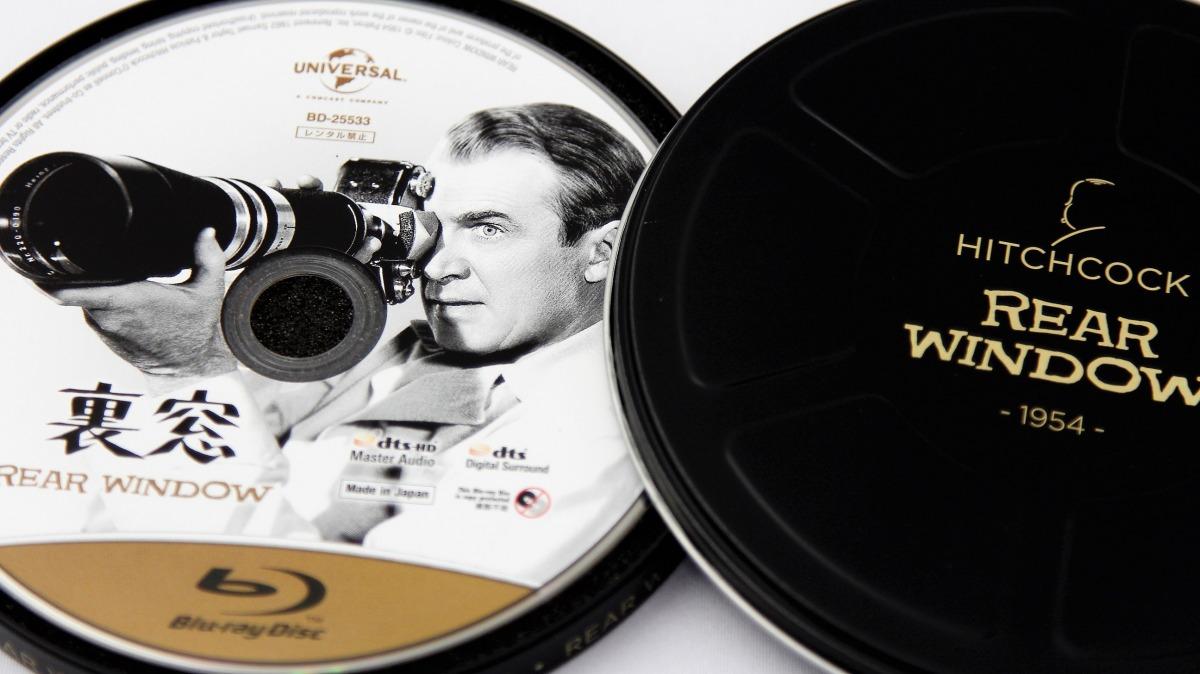 『裏窓』Blu-ray