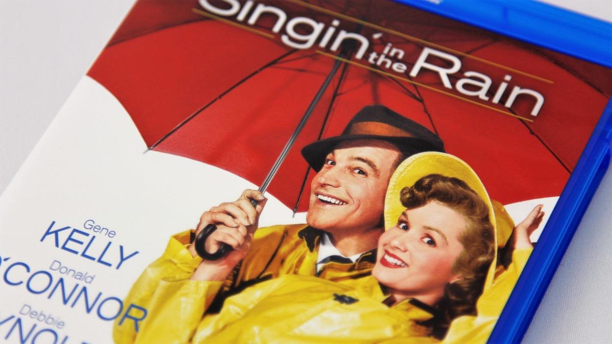 『雨に唄えば』Blu-rayパッケージ表